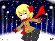 ルーミアさん(雪)