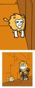 猫の面白画像みてたら描きたくなった絵