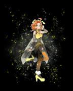 愛里・オリジナル衣装(背景あり)