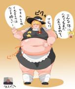 太りすぎを注意されるSZ姉貴
