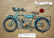 VioletEvergardenのバイク