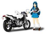 朝倉涼子 with R1-Z