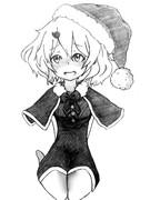 赤面フレイアちゃん(クリスマスver.)