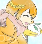 ジャンヌと雪うさぎ
