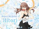 【贈呈】 ひと里さん Happy Birthday
