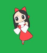 走るSRMY姉貴GIF