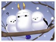 寒イ…モット身ヲ寄マセイ…