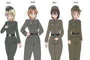 WW2ドイツ軍の野戦服