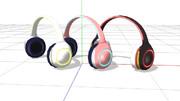 【MMD】シンプルなヘッドフォン【アクセサリ配布】