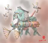 強化オールレンジ攻撃型ニュータイプMS「ハロオス」