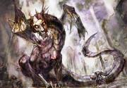 廃城のドラゴンゾンビ