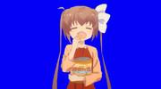 アホ面でポテチを食べる女子高生BB