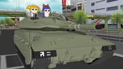 どこで戦車の使い方を習った?