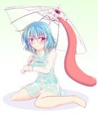 ビニール唐傘とビニール小傘