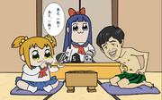 賭け将棋  ポプテピピック×藤井聡太きゅん