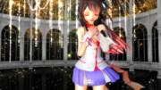 【れんくう式kokone】煌くステージで・・・【MikuMikuDance】
