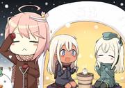 雪の日はかまくらでっち!