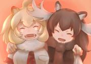 ライオン&ヘラジカ