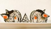 恵方飾り巻き寿司と化したINU