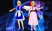 【モデル配布】アールビット風夢幻姉妹