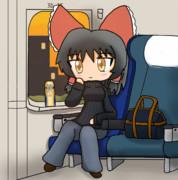 実家の事思ったら居た堪れない気持ちになり新幹線に乗ったSNNN姉貴