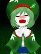 なぜか泣いてる葉ーちゃんを描きたかった
