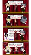 UDK姉貴 v.s. NYN姉貴 にらめっこ対決