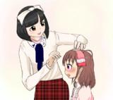 藤本彩花さんが愛海の特訓後の髪型をやってあげてたらいいよねっていう話