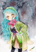 雪とずん子ちゃん
