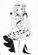 【切り絵】櫻木真乃ちゃん
