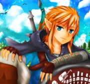 The Legend of Zelda リンク ひとやすみ