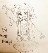 になちゃん誕生日おめでとう!