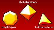 HOT (Heptagon, Octahedron, Tetrahedron)