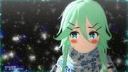 【MMD艦これ】ワンドロ白露型(お題「山風」「マフラー」)