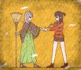 【壁画】スーシィとの出会い