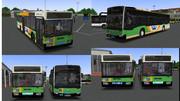 都営バス色のメルセデス・ベンツ・シターロC2とO405N2