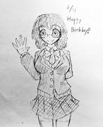 ふうかちゃん誕生日おめでとう!