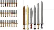 [MMD]モーフで形状変化する小剣