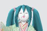 【ドット絵】初音ミク雛【クリプトン監修】
