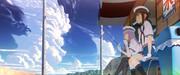 艦これ同人アニメ イメージボード「いつもの駄菓子屋」