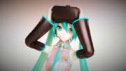 初音ミク with VR HMD