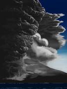 桜島 大正噴火