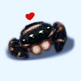 【蜘蛛絵注意】落書きで描いた蜘蛛