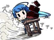 五月雨「コレを使えば、転んでもケーキは無事ですねっ!」