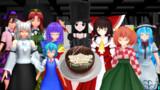 皆で作ったバレンタインケーキ