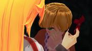 返ってきた笑顔が予想以上に素敵すぎて戸惑っている橋姫