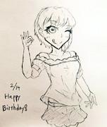 フレちゃん誕生日おめでとう!