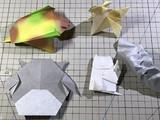 即興創作折り紙1