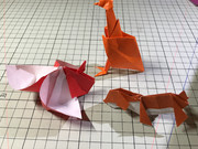 即興創作折り紙2