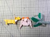 即興創作折り紙4